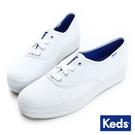 KEDS 品牌經典厚底休閒鞋 白 白鞋│...