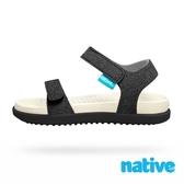 native 小童鞋 CHARLEY 小查理涼鞋-夜空黑