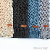 黛青 女自織圍巾材料包情人棉手工diy編織毛線團牛奶棉粗線送男友