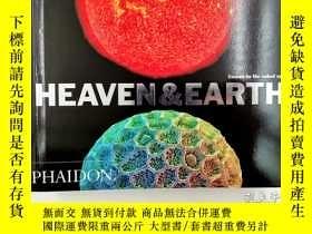 二手書博民逛書店Heaven罕見& Earth: Unseen by the naked eyeY19139 Katherin
