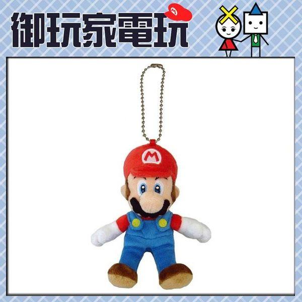 ★御玩家★正版任天堂 瑪莉歐玩偶吊飾 高13cm