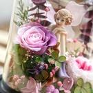永生花玻璃罩系列,夢幻小天使,共六款