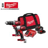 台北益昌來電最低價 Milwaukee 米沃奇 M18BID + M18BPD 18V 鋰電 2.0+4.0電池版 衝擊 起子機 震動 電鑽