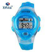 兒童電子錶 電子表生活防水學生數字式運動手表夜光男童女童