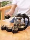 水壺 茶壺玻璃咖啡泡茶壺茶具套裝家用大號單壺耐熱水壺過濾紅茶花茶壺【快速出貨八折下殺】