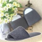 《J 精選》可水洗旅行用毛巾布褶疊拖鞋(附收納袋)