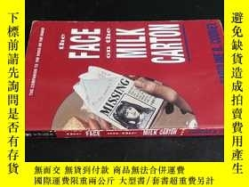 二手書博民逛書店the罕見FACE on the MILK CARTONY591