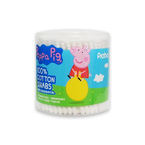 博寶兒 環保紙軸棉花棒200入-PEPPA PIG/佩佩豬(雙造型棉頭)[衛立兒生活館]