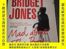 二手書博民逛書店英文原版罕見Bridget Jones: Mad About t