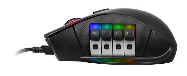 [哈GAME族]免運費 可刷卡 曜越 復仇者 NEMESIS RGB 電競光學滑鼠 滾輪按鈕切換 1680萬色可設定色光