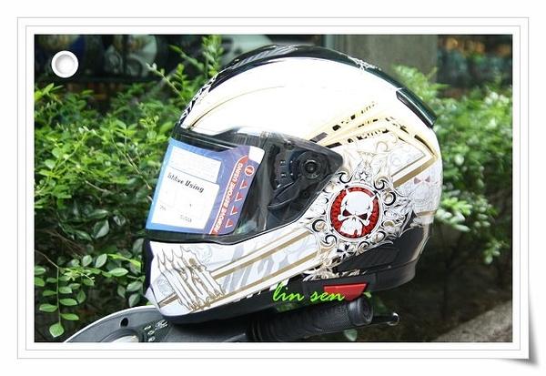 M2R安全帽,F5,#2黑/金