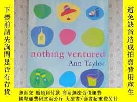 二手書博民逛書店32開英文原版罕見Nothing venturedY281995 Ann Taylor Pitakus 出版