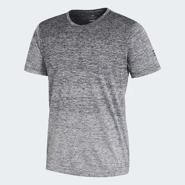adidas 短袖T恤 FreeLift Gradient T 男款 灰 白 漸層 【PUMP306】 CW3435