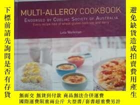 二手書博民逛書店MULTI-ALLERGY罕見COOKBOOK ENDORSED