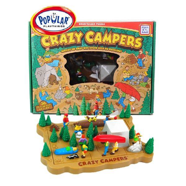 【美國 POPULAR】探險隊 Crazy Campers POP70211
