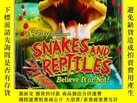 二手書博民逛書店Ripley罕見Twists: Snakes & ReptilesY410016 Ripley Publis