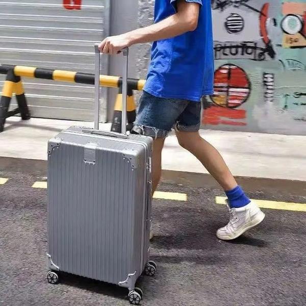 行李箱 行李箱女萬向輪旅行箱男拉桿箱女密碼箱女大容量皮箱子女學生韓版