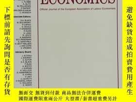 二手書博民逛書店LABOUR罕見ECONOMICS 2019年6月 英文版Y42402