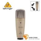 Behringer 耳朵牌 C-1U USB電容式麥克風【USB連接/無驅動隨插即用/C1U】