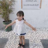 女童裙子2018新款1兒童夏裝吊帶裙2小童裝寶寶夏季洋氣連衣裙3歲禮物限時八九折