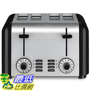 [美國直購] Cuisinart CPT-340 1250Watts  Compact Stainless 4-Slice Toaster, Brushed Stainless 烤麵包機烤土司機