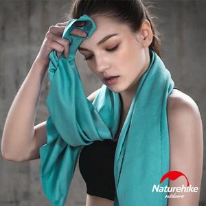 Naturehike 迷你便攜細纖維戶外吸水速乾毛巾 湖綠