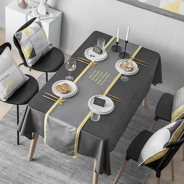 時尚可愛空間餐桌布 茶几布 隔熱墊 鍋墊 杯墊 餐桌巾桌旗 600 (30*160cm)