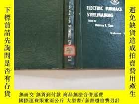 二手書博民逛書店EKECTRIC罕見FURNACE STEELMAKING(電爐