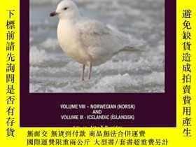 二手書博民逛書店Burridges罕見Multilingual Dictionary Of Birds Of The World-