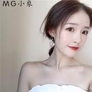 MG 耳墜-韓版不對稱氣質簡約幾何耳環