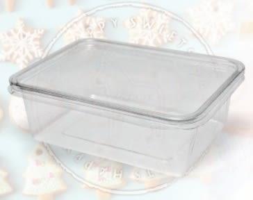 5入 650CC PET餅乾盒 馬卡龍盒 糖果盒S012