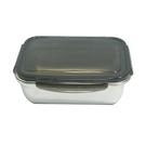 304不鏽鋼保鮮盒1800ml-黑