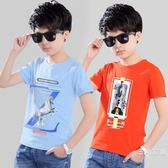 男童短袖t恤潮童棉韓版童裝2019夏季新品中大童圓領上衣7歲12歲
