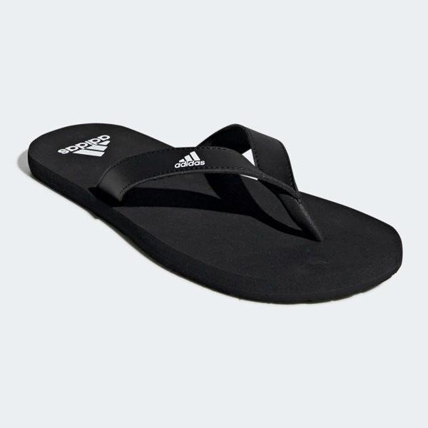 Adidas EEZAY FLIP-FLOPS 男鞋 拖鞋 夾腳 休閒 海灘 輕量 黑【運動世界】F35029