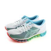 亞瑟士 ASICS GEL-QUANTUM 306 CM 運動鞋 白色藍 女鞋 T6G6N-0100 no306