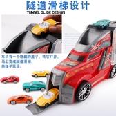 兒童貨柜車玩具合金汽車模型