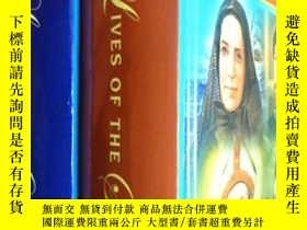 二手書博民逛書店英文原版罕見Illustrated Lives of the S
