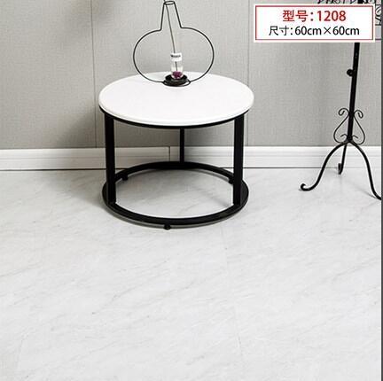 3D立體地貼 PVC自粘地板革貼紙防水耐磨仿瓷磚大理石塑膠家用地板貼翻新TW【快速出貨八折搶購】