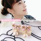 耳環 現貨 韓國 氣質 芭比 粉紅 珍珠...