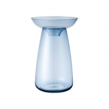 KINTO AQUA CULTURE 玻璃花瓶 (大) 藍