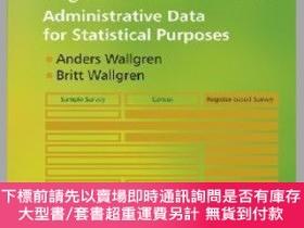 二手書博民逛書店預訂Register-Based罕見Statistics - Administrative Data For St