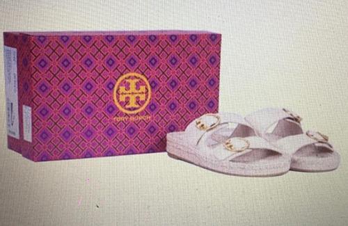 [COSCO代購] W1503385 Tory Burch 女雙帶拖鞋