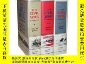 二手書博民逛書店The罕見Civil War: A Narrative (the Civil War #1-3)Y362136