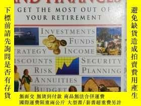 二手書博民逛書店32開英文原版罕見Retirement and finances
