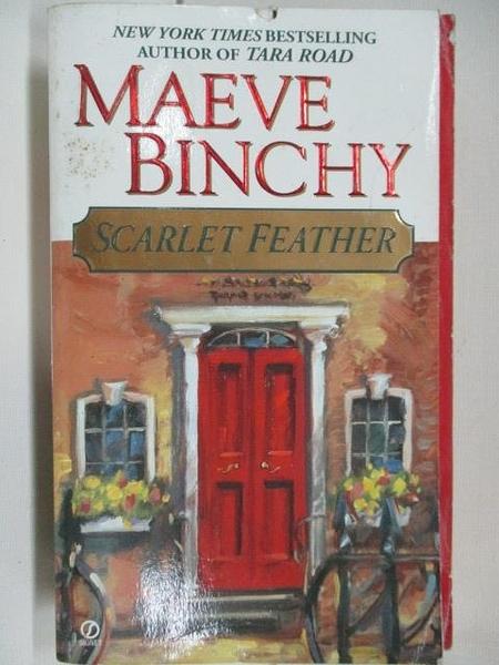 【書寶二手書T8/原文小說_AMU】Scarlet Feather_Maeve Binchy