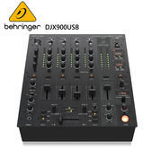 BEHRINGER DJX900USB專業5通道DJ混音器(超低噪音/智能BPM計數器/USB接口)