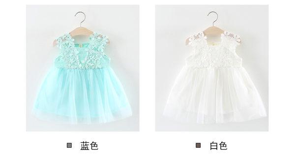 洋裝連身裙2018新款童裝女寶寶夏裝背心裙0-3歲2兒童無袖裙子女童嬰兒連衣裙三角衣櫥