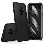 [富廉網] 【Spigen】Galaxy S9+ Liquid Crystal 超輕薄型彈性保護殼 霧黑/透明