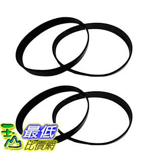 [106美國直購] 4 Eureka Style U Belts Fit Eureka Uprights, Whirlwind, Victory, Bravo, LiteSpeed, AS-2000 Series