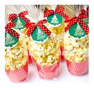 幸福朵朵【聖誕禮物-歡樂耶誕爆米花】交換禮物.聖誕來店禮贈品.耶誕活動裝飾佈置!!